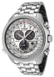 Citizen Citizen Men's Perpetual Calendar Chronograph Stainless Steel Watch