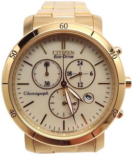 Citizen Citizen Womens Eco-drive Fb1342-56p Gold Stainless-steel Eco-drive Watch