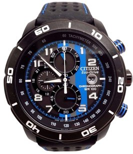 Citizen Citizen Ca0467-03e Mens Chronograph Eco-drive Blackblue Watch