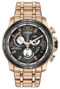 Citizen Mens Citizen Eco-drive By0108-50e Perpetual Calendar Atomic Watch