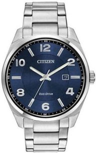 Citizen Mens Citizen Eco-drive Stainless Steel Dress Watch Bm7320-52l