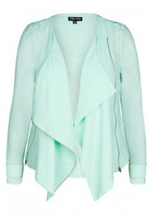 City Chic 00094078 Basic Jacket Coat
