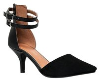 City Classified Black Pumps