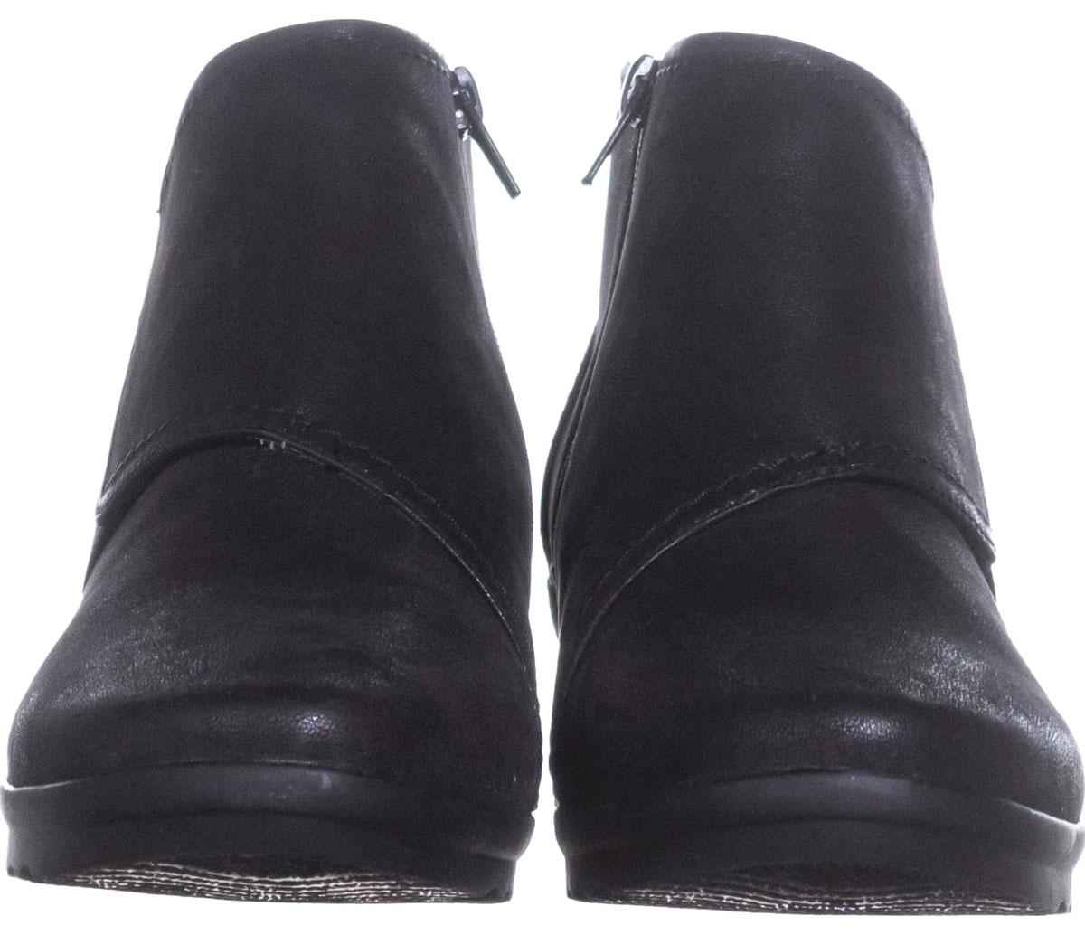Clarks Black Cloudsteppers By Caddell Rush Wedge 876 / Boots/Booties (M, Size US 9 Regular (M, Boots/Booties B) 7a43dc