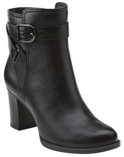 Clarks Leather BLACK LEATHER Boots