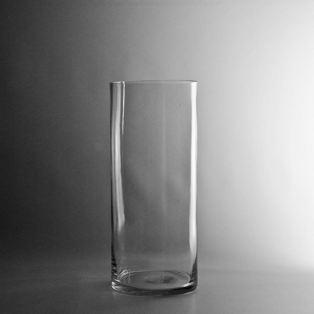 Clear 6 Quot X14 Quot Cylinder Glass Vase Centerpiece Tradesy