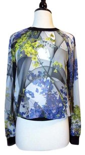 Clover Canyon Floral Abstract Top multi