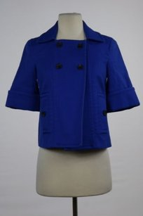 Club Monaco Womens Basic Blue Jacket