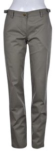 Club Monaco Womens Taupe 0 Casual Trousers Pants