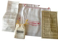Coach 5-pc Coach Set - 2 dustbags, Coach Care Instructions, Small drawstring bag