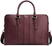 Coach Bond Smooth Leather Laptop Bag