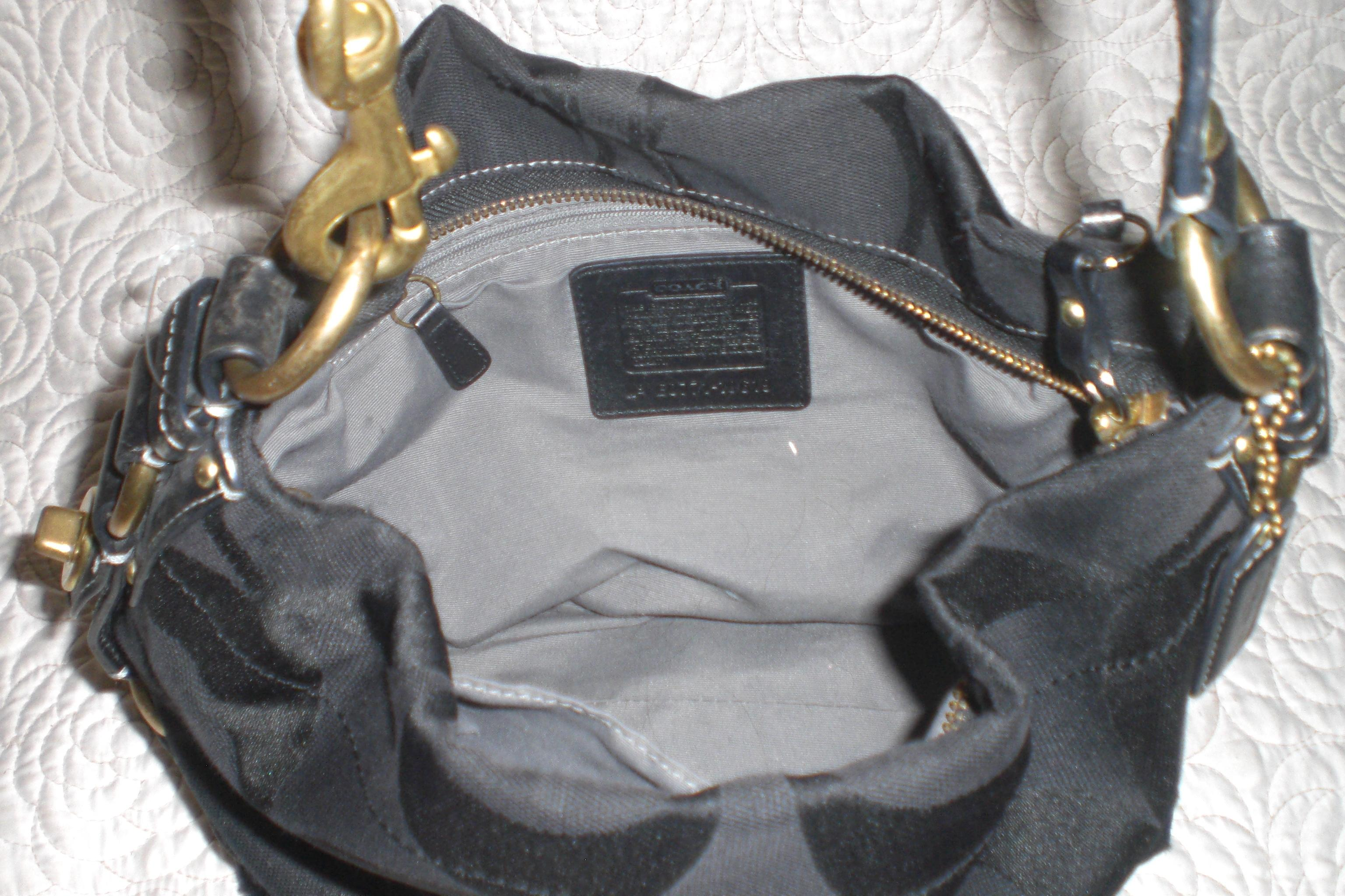 49a354b490ba ... best price coach leather carly hobo silver hardware studs shoulder bag  coach hobo bag.