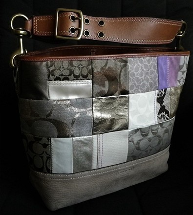 Coach Dooney Bourke Gucci Chanel Louis Vuitton Vintage Tote in Multi-Color