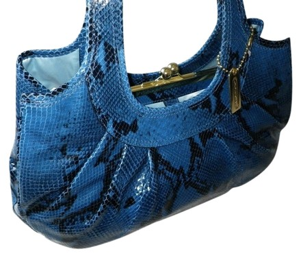 Preload https://item2.tradesy.com/images/coach-exotic-ergo-embossed-python-pleated-frame-tote-blue-leather-satchel-517156-0-0.jpg?width=440&height=440