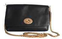 Coach F36824 Gold Chain Cross Body Bag