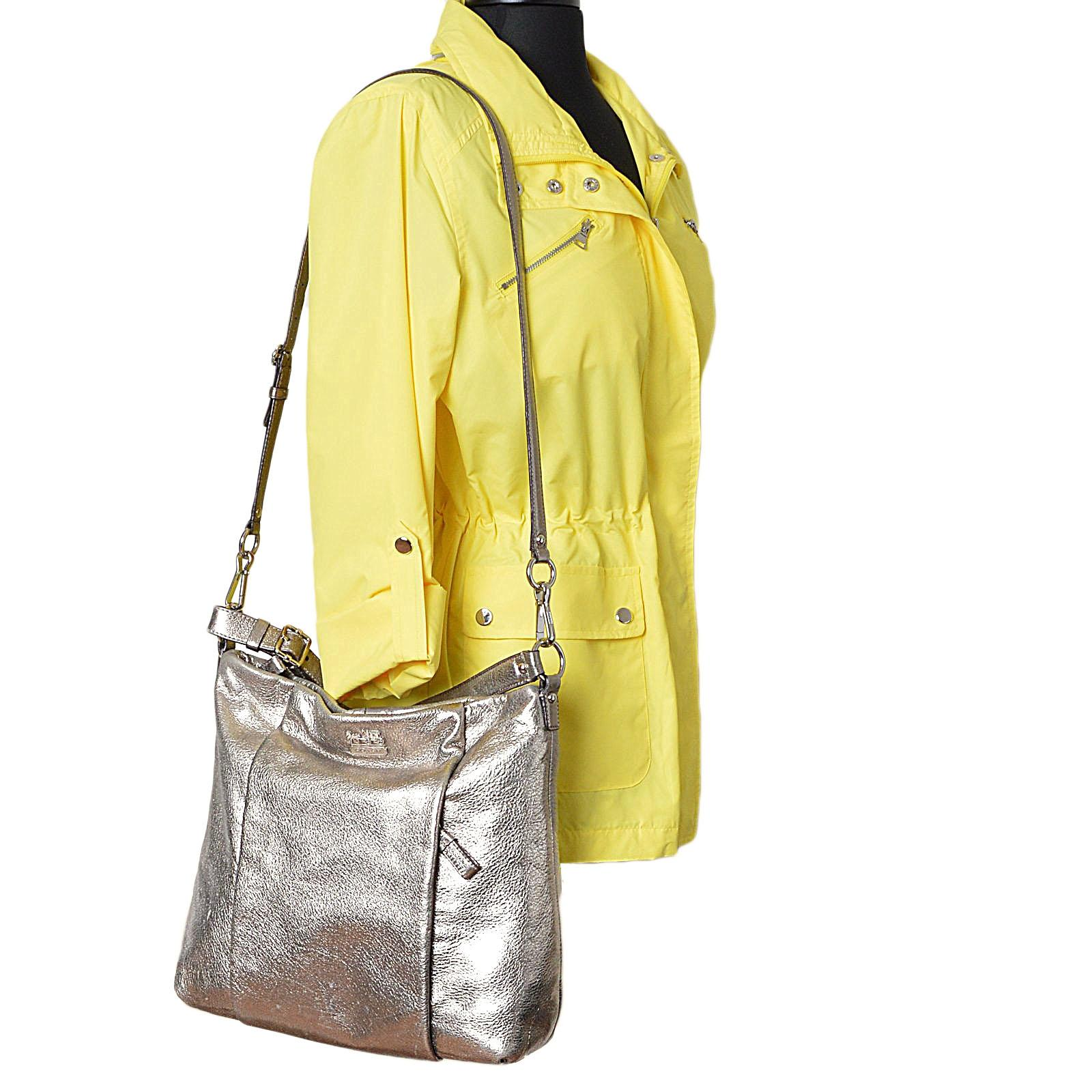 99797bdf9274 ... get coach isabel metallic hobo silver leather shoulder bag tradesy  2679b 83529