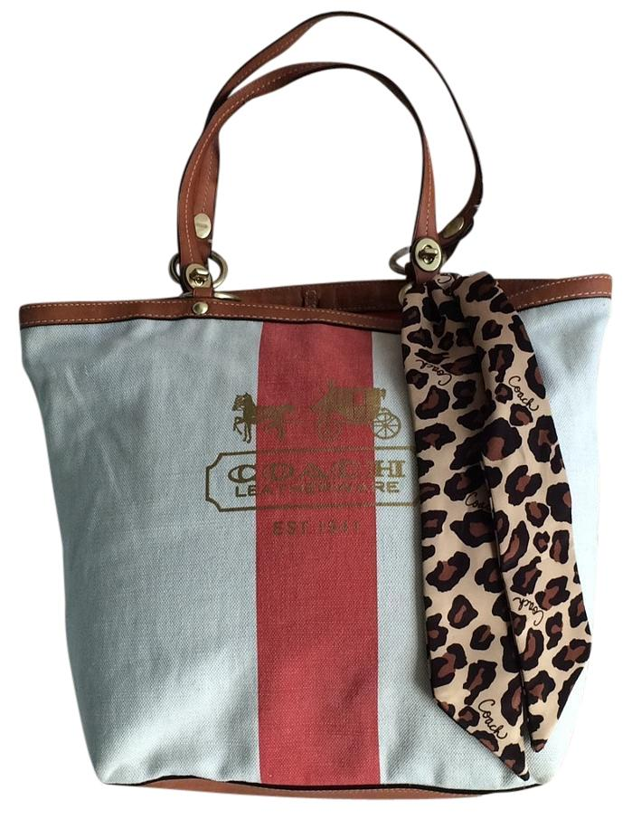Coach Beach Bags - Up to 90% off at Tradesy