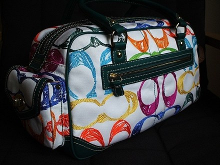 Coach Dooney & Bourke Louis Vuitton Vintage Chanel Tote in Multi-Color