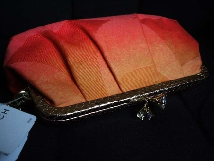 Coach Gucci Vintage Channel Oranges Clutch