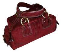 Coach Louis Vuitton Dooney Bourke Satchel in Red
