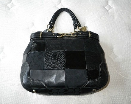 Coach Louis Vuitton Dooney Bourke Gucci Channel Rare Vintage Tote in Blacks