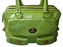 Coach Louis Vuitton Dooney Bourke Tote in Greens