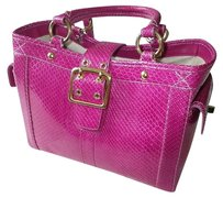 Coach Louis Vuitton Dooney Bourke Tote in Magenta Pink