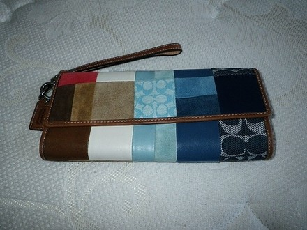 Coach Louis Vuitton Dooney Bourke Gucci Channel Rare Vintage Wristlet in Multi-Color