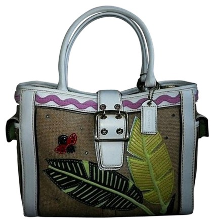 Preload https://item2.tradesy.com/images/coach-ltd-ed-leafy-lady-bug-crystal-applique-boxy-multi-color-natural-handwoven-straw-suede-leather--1640936-0-0.jpg?width=440&height=440
