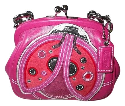 Preload https://item2.tradesy.com/images/coach-ltd-ed-sm-lady-bug-frame-kisslock-pinksred-leather-suede-satchel-726146-0-0.jpg?width=440&height=440