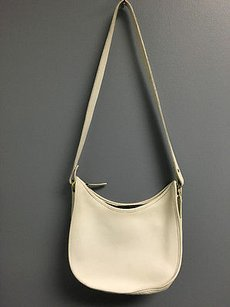Coach Leather Top Zip Rounded Or B3058 Cross Body Bag