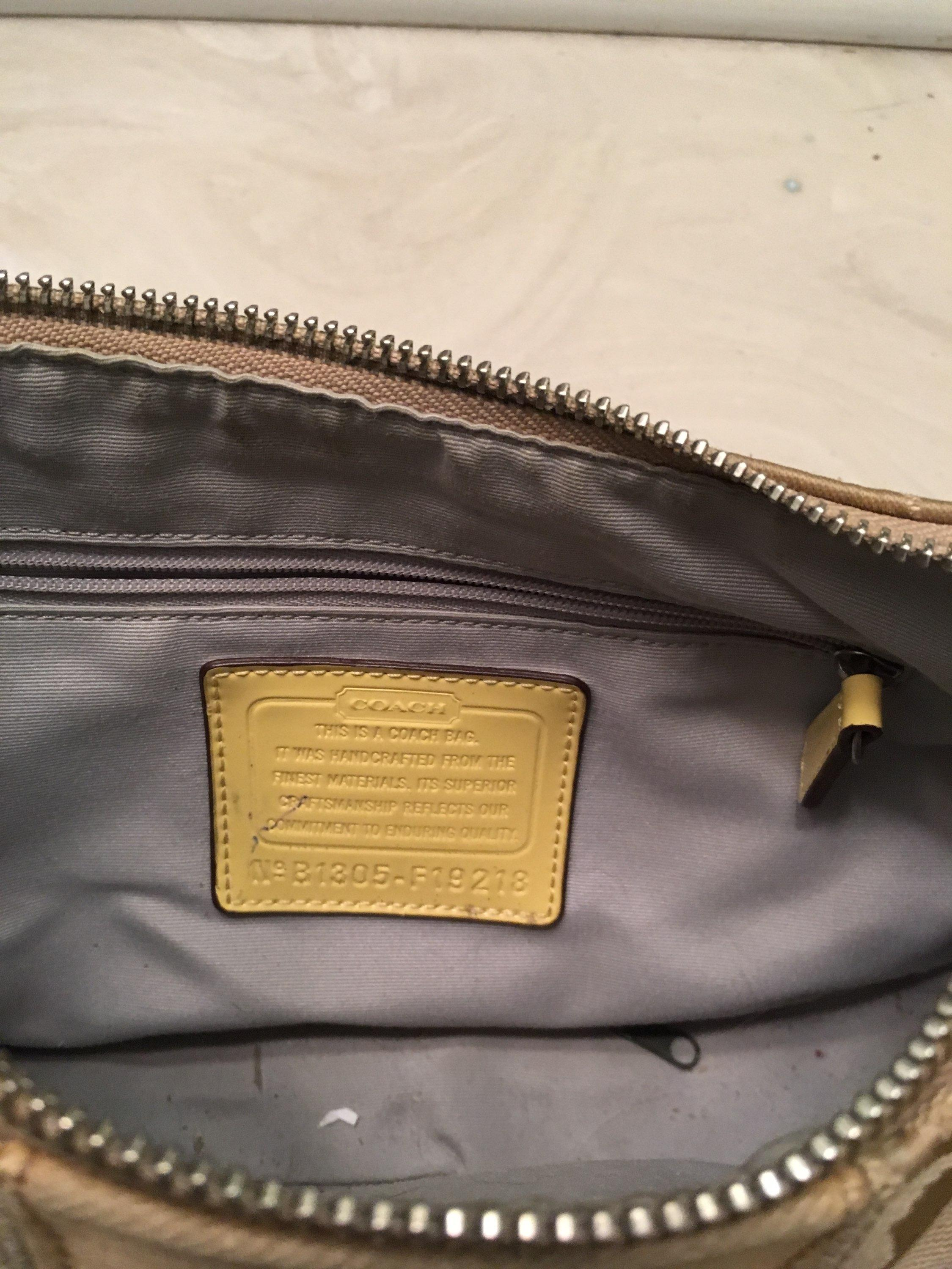 d78a9cd1e9da ... where to buy coach monogram small yellow canvas faux leather hobo bag  tradesy 911dc ad90a