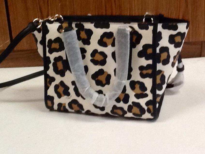 d6eaa4c74 get coach ocelot mini 33845 white background with tan and black animal print  leather cross body
