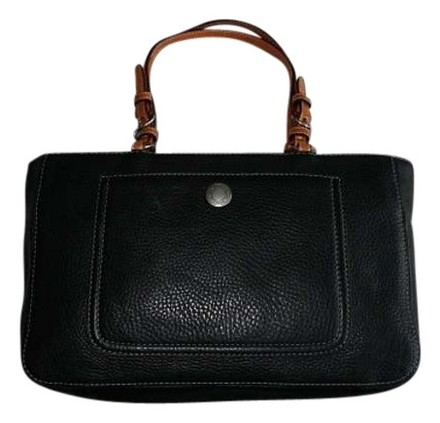Preload https://item2.tradesy.com/images/coach-pebbled-british-tan-trim-black-leather-tote-398996-0-0.jpg?width=440&height=440