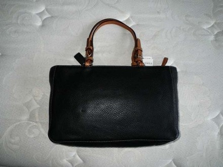 Coach Dooney Bourke Louis Vuitton Channel Tote in Black