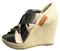 Coach Pewter Wedges