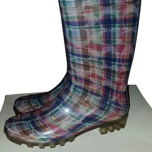 Coach plaid Boots
