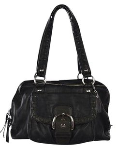 Coach No L0893f13111 Womens Satchel in Black