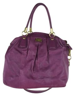 Coach Womens Satchel in Purple