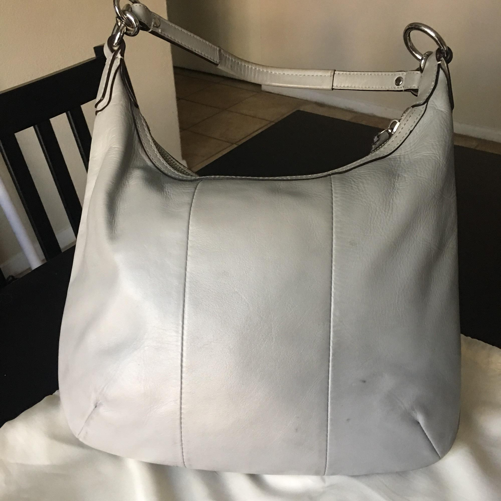 1ab6147f63cc ... sale coach serial number b1269 19314 light blue leather hobo bag tradesy  d0d05 7b6e0
