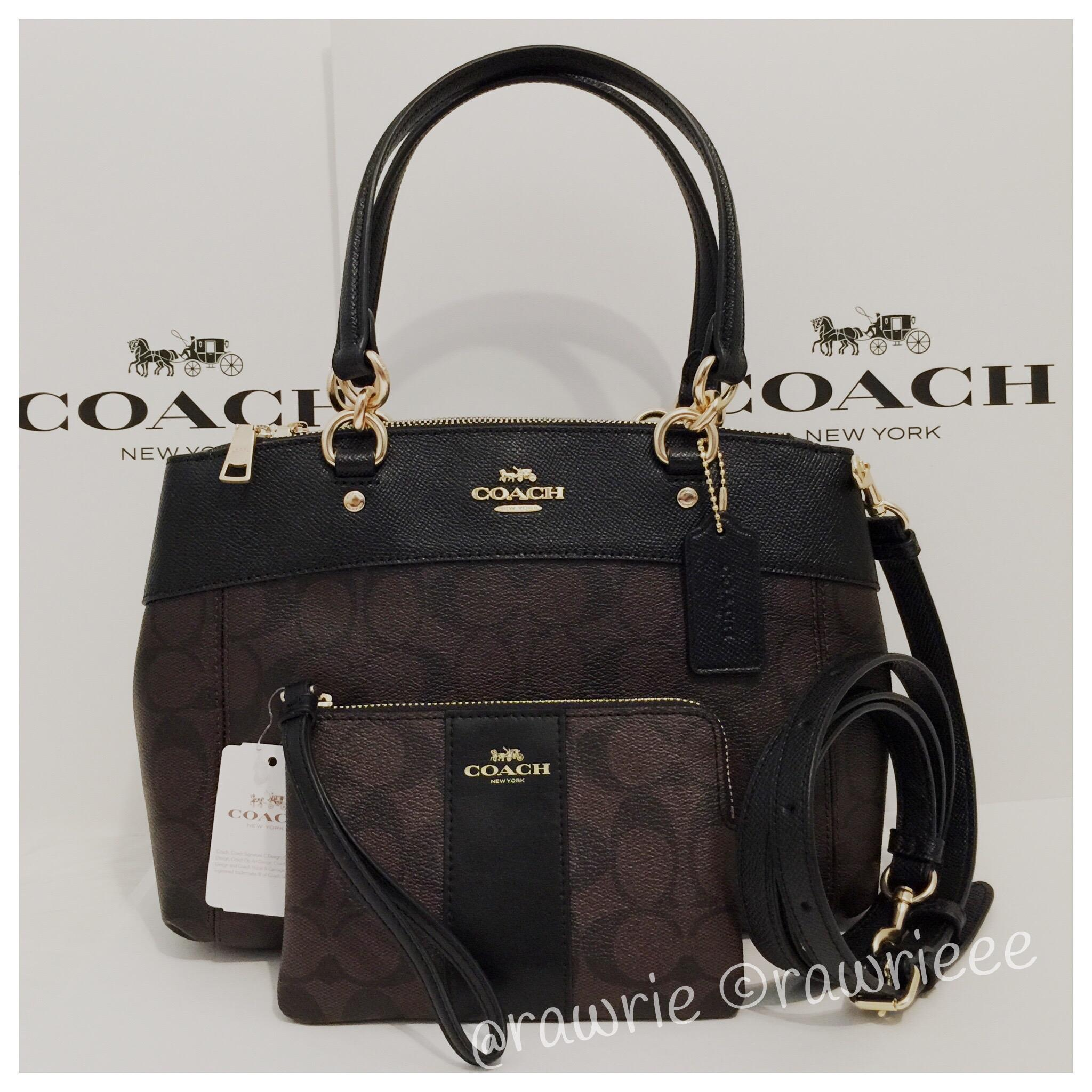 9af0bce108 ... spain coach monogram set matching set gift set signature set cross body  bag 3bef9 643bc ...
