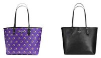 Coach Tote in Purple or Black
