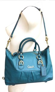 Coach Tote in Turquoise