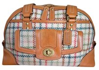Coach Vintage Satchel in Tattersall