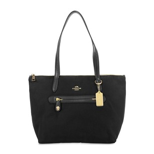 Coach Women's 35500-liblk Tote in Gold/Black