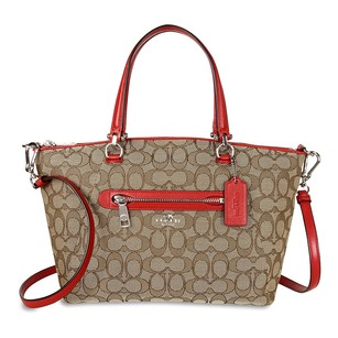 Coach Women's Satchel in Red