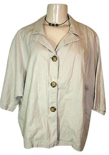 Coldwater Creek Linen Beige Jacket