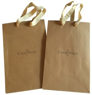 Cole Haan 2 Brand New Cole Haan Shopping Bags