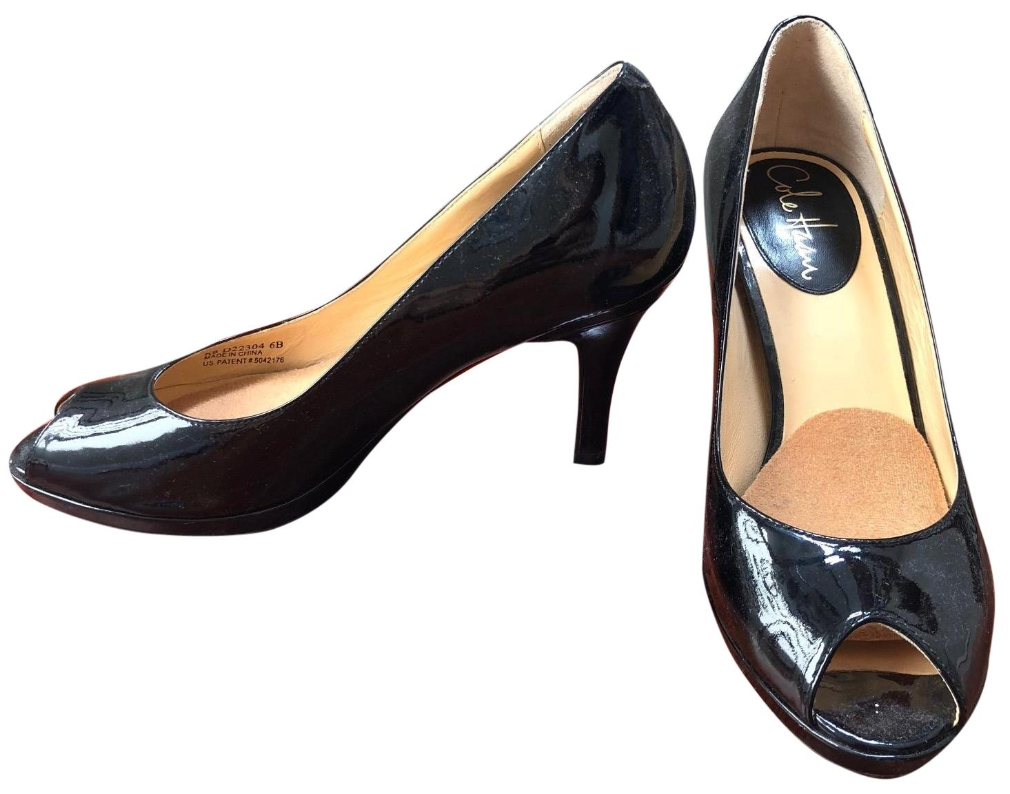 07316223a8e Cole Haan Black Open Toe Work Pumps Size Size Size EU 36 (Approx. US ...