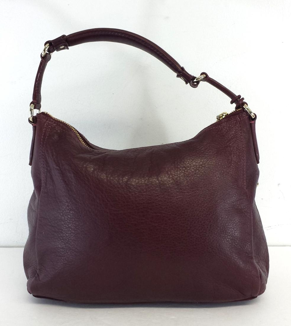 Cole Haan Burgundy Leather Hobo Bag | Hobos on Sale